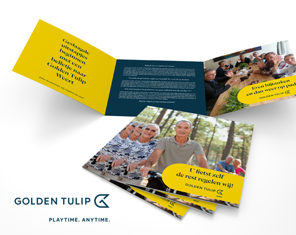 Golden Tulip | Branding & Communicatie middelen
