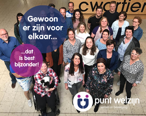Punt Welzijn | Branding & communicatie strategie